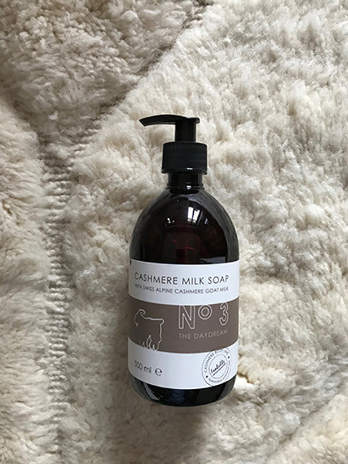 Liquid soap hand/body cashmere milk No 3