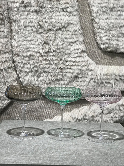 Champagne glass crystal