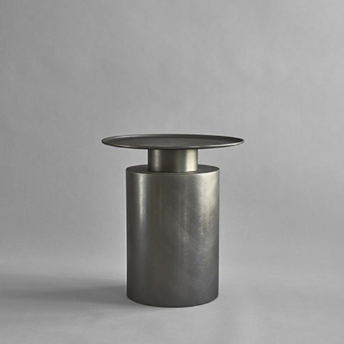 Coffeetable tall, zinc