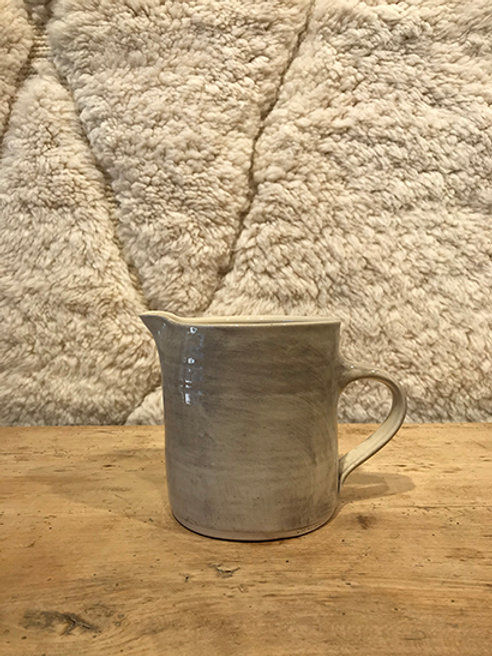 Jug small plain warm grey