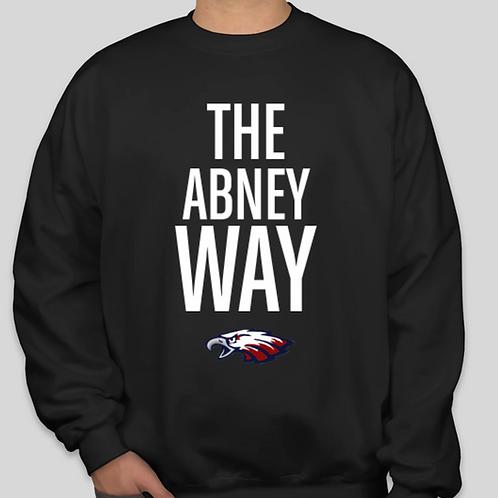 Abney Way Crew Black