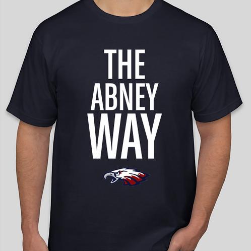 Abney Way T-Shirt Navy