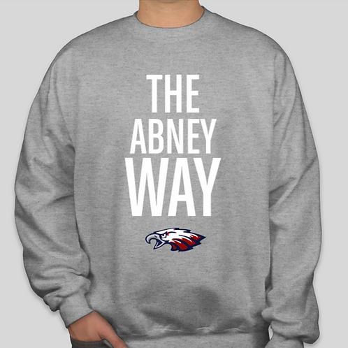 Abney Way Crew Grey