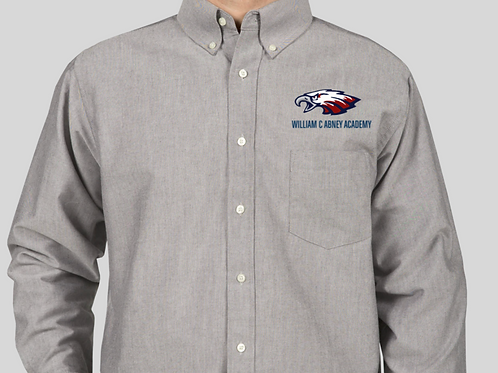 Abney Dress Shirt Grey