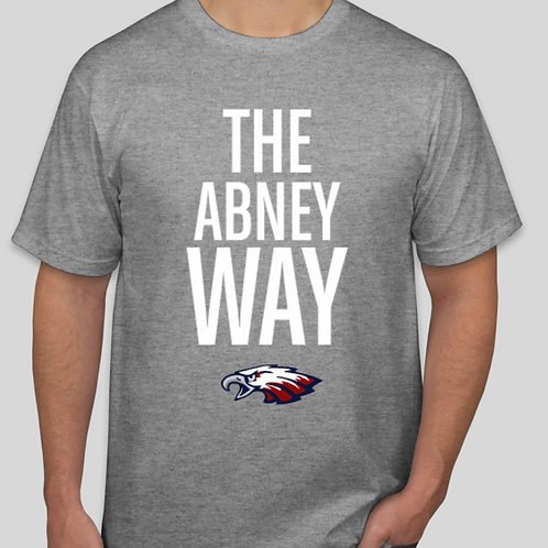Abney Way T-Shirt Grey