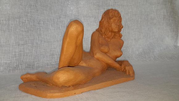 """Sculpture """"Femme allongée"""""""