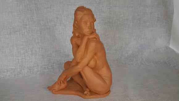 "Sculpture ""Femme assise"""
