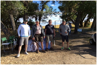 Giving Back: Partner Joe Stengel Shoots Clays to Support Oilfield Helping Hands