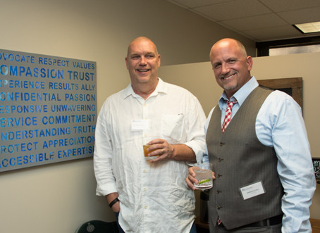 """Evans Case supports VSA Colorado's annual """"99 Pieces of Art on the Wall"""""""