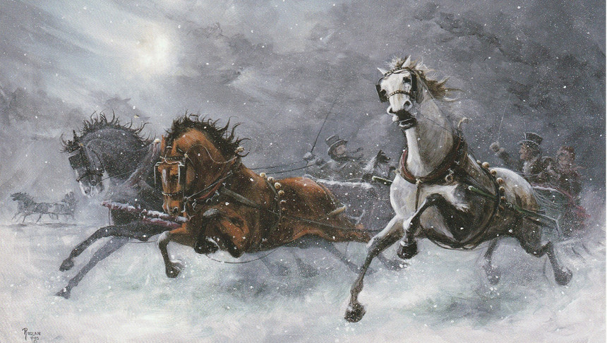 The Great Winter Sleighrace