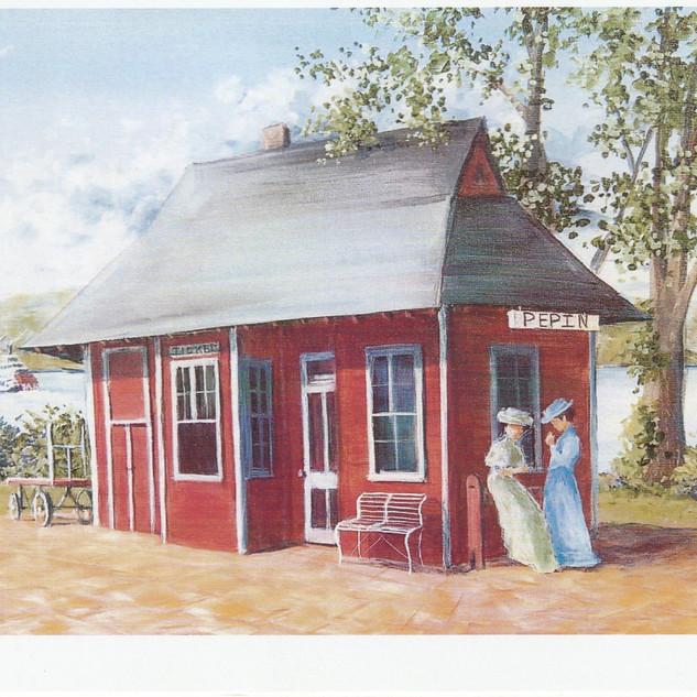 Pepin depot  pepin, WI