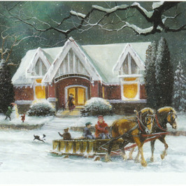 Durand Library...A Winter's story   Durand, WI