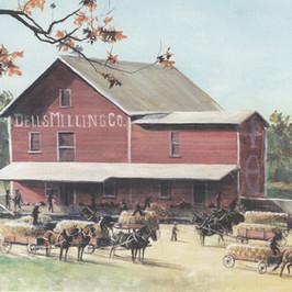 Milling the Harvest, Dells Mill