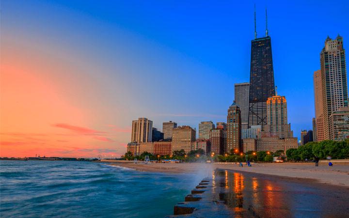 Oak Street Beach Chicago