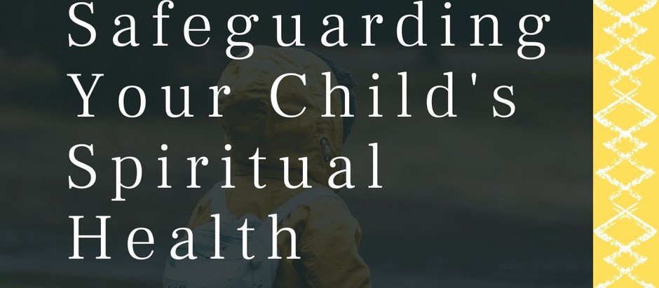 "Book Launch: ""Safeguarding Your Child's Spiritual Health"""