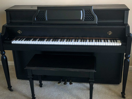 DIY PIANO RESTORATION