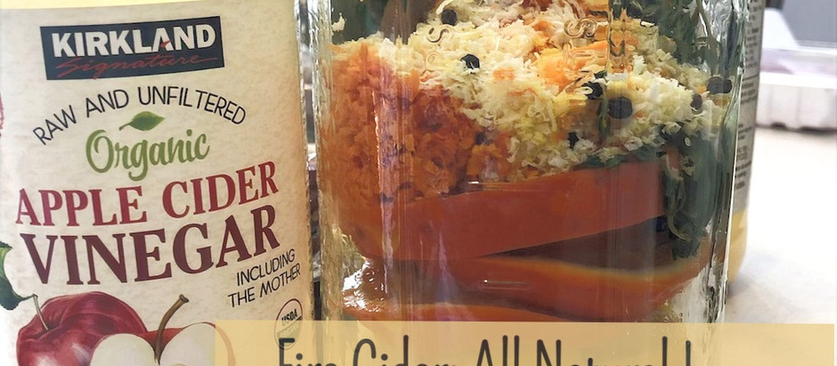 Fire Cider: All Natural Immune Booster and Flu Fighter