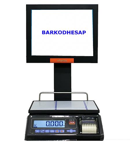 J1800 MANAV BARKOD SİSTEMİ TERAZİLİ