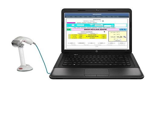 Laptoplu Barkod Sistemi