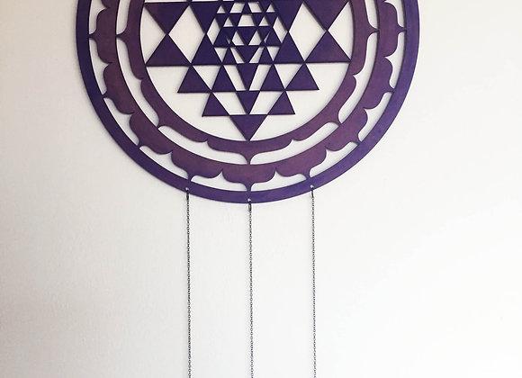 Medium ShriYantra Purple
