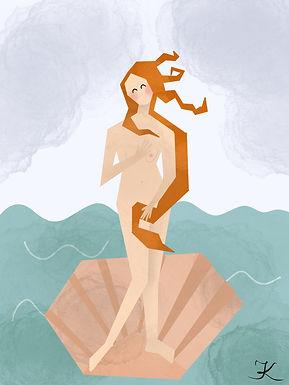 Plakat Venus Pudica