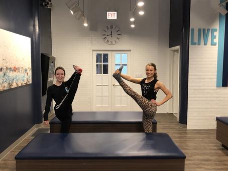 Balancing Hamstring Stretch