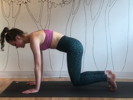 Crouching Plank Workout