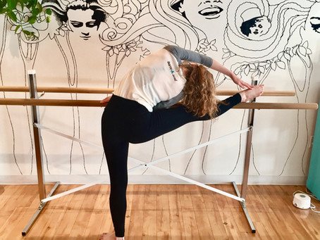 Barre Leg Stretch