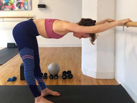 Barre Back Stretch