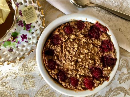 Basic Single-Serve Baked Oats Recipe