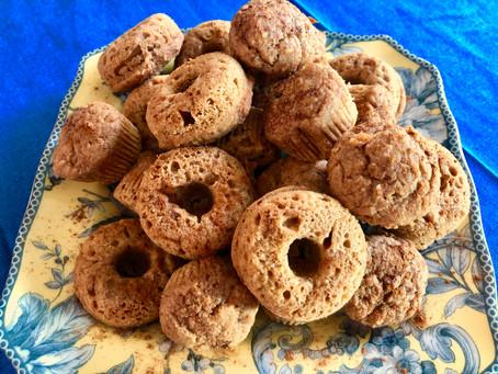 Vegan Apple Sauce Muffins or Donuts