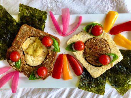 Tofu Bird's Nest Toast