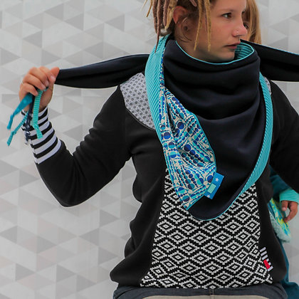 foulard triangle adulte