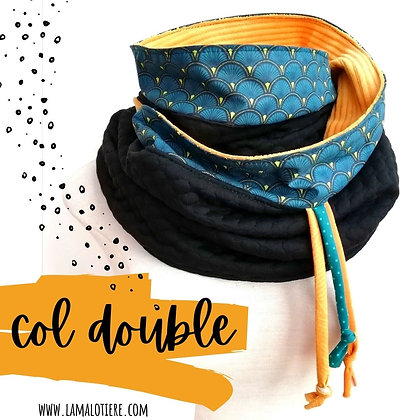 col / snood double