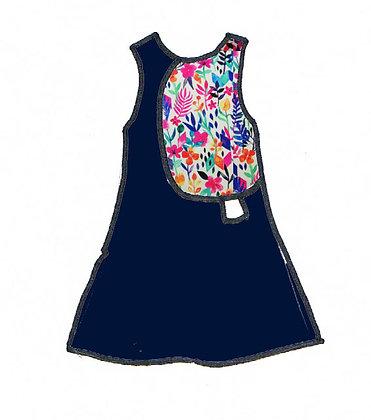 robe debardeur bluzy