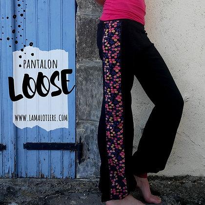 pantalon loose femme