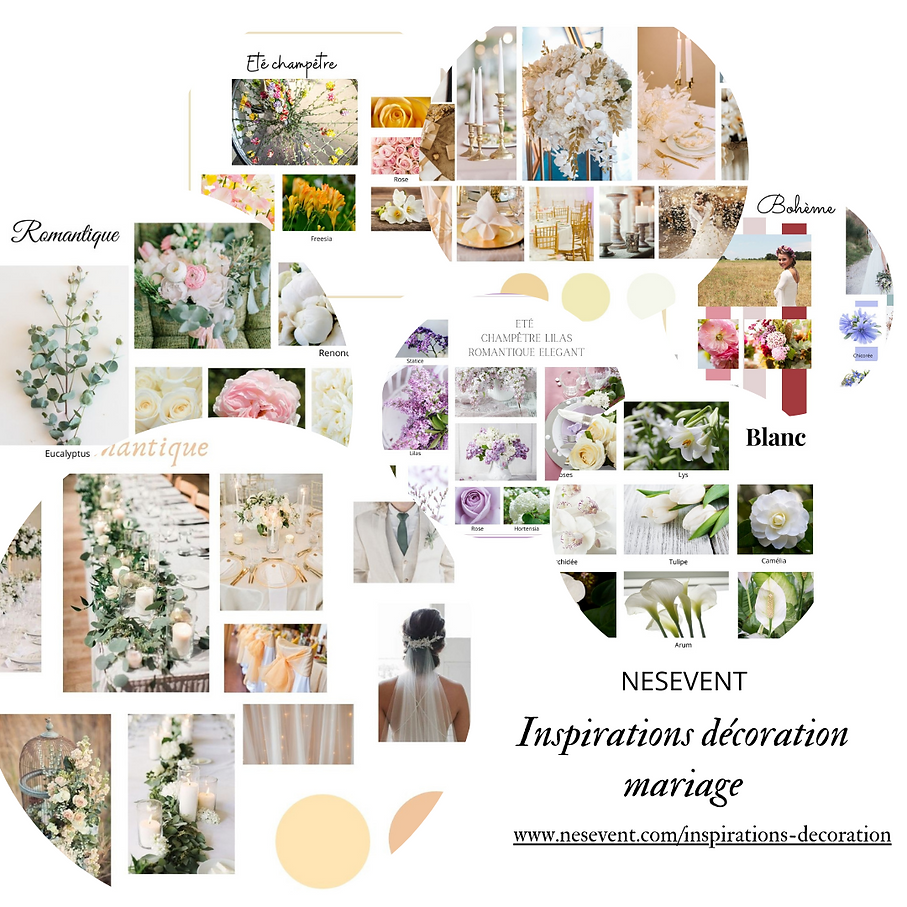 post siteInspirations décoration mariage