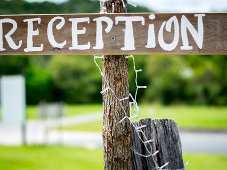Le lieu de réception - Les petits conseils pour les futurs mariés.