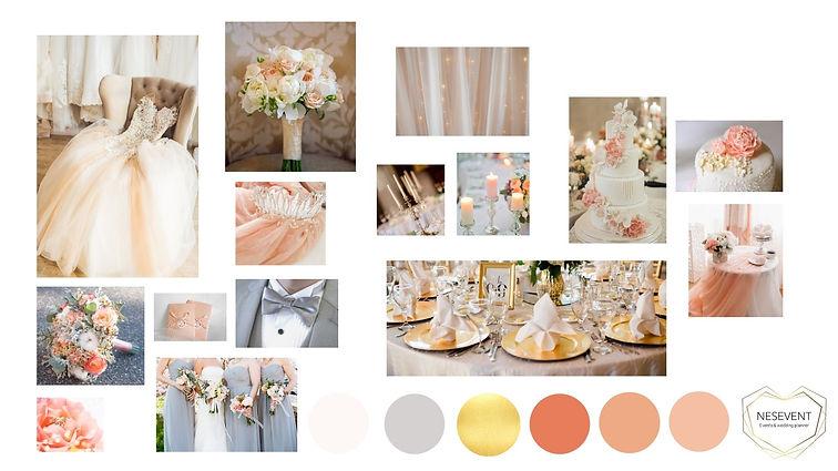 décoration mariage nude rosé et doré planche d'ambiance.jpg