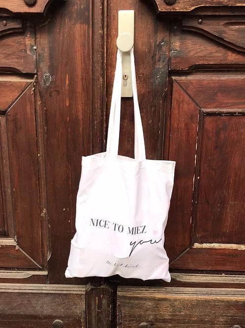 Nice To Miez You Bag
