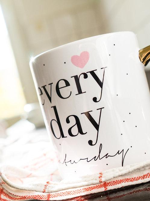 Everyday Caturday Premium Cup