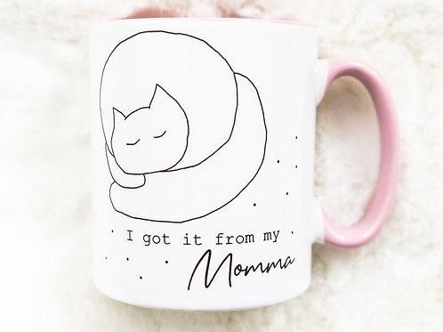 Sleepy Cat Cup