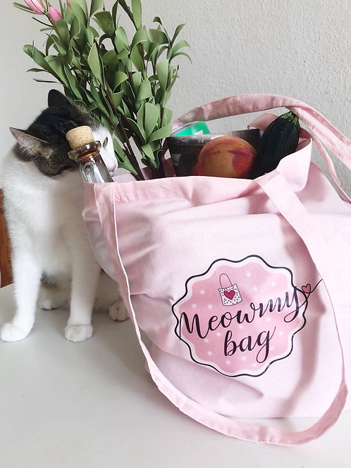 """Meowmy bag"" rosa"