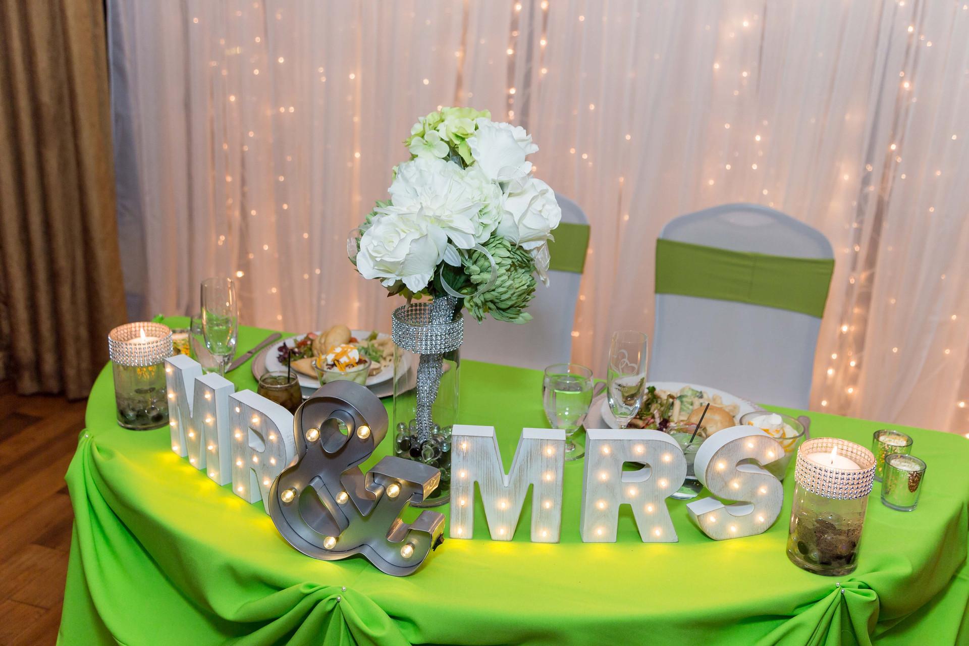 Wedding Couple Centerpiece