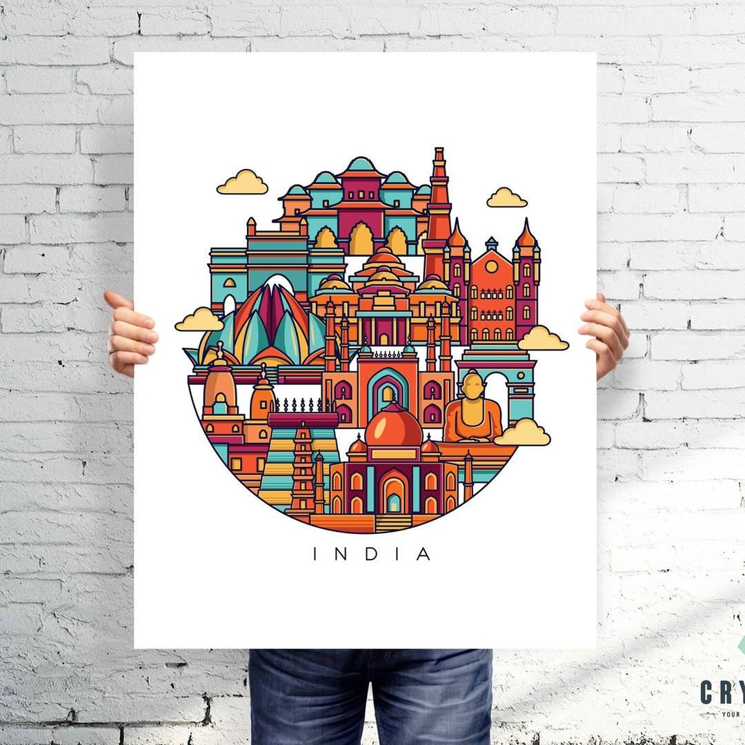 Wall art & poster design