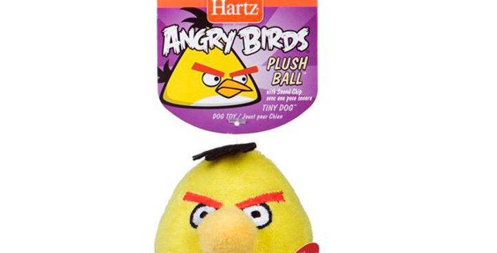 Juguete para perro Angry Birds - Plush Ball