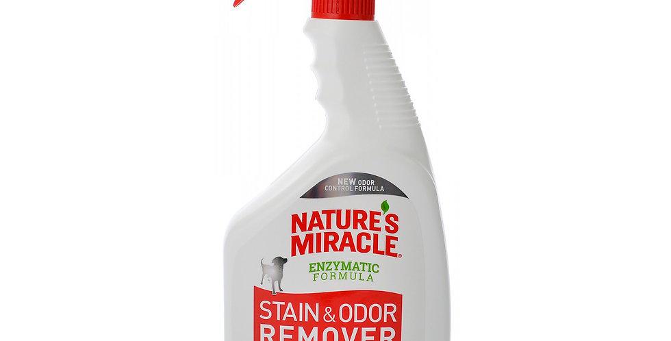 Spray removedor de manchas y olores de perro