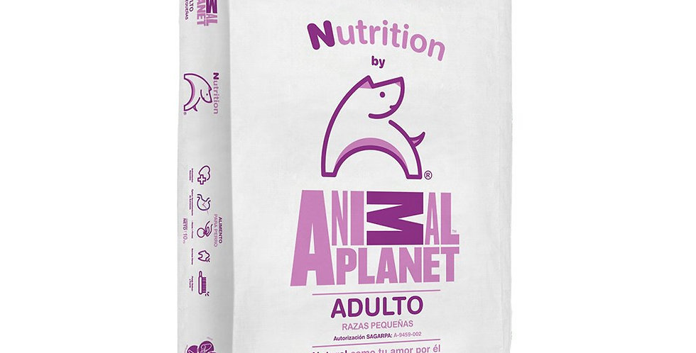 Nutrition by Animal Planet Adulto Raza Pequeña