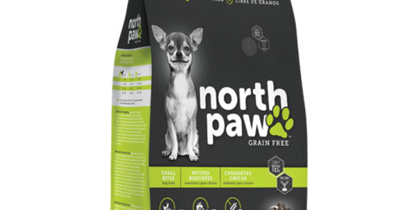 North Paw Grain Free Adulto Mordida Pequeña 5.8 kg