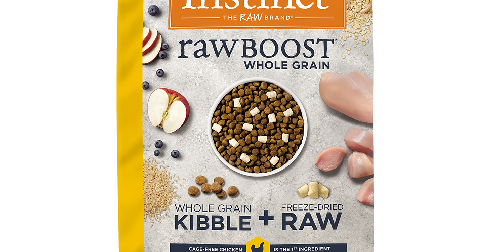Instinct® Raw Boost® de Pollo con Granos y Arroz Integral